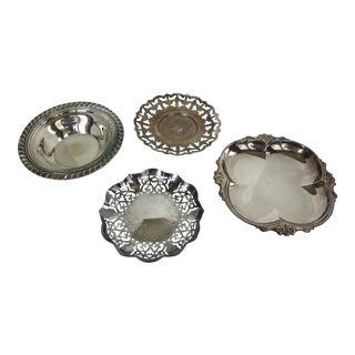 Vintage Silverplate Serving Pieces - Set of 4
