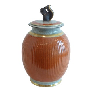 1950s Royal Copenhagen Covered Jar