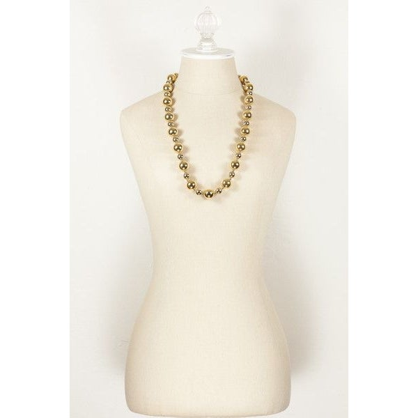 Image of 70's Napier Bold Ball Necklace