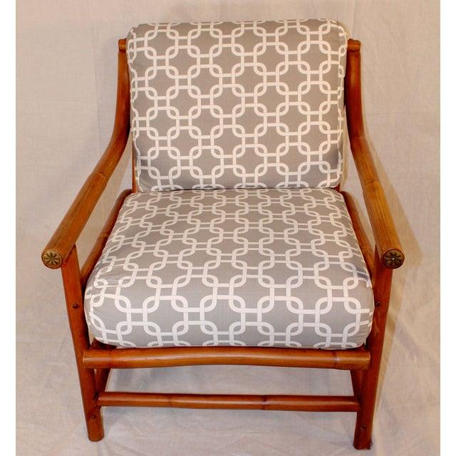Ritts Tropitan Bamboo Lounge Chair - Image 5 of 6