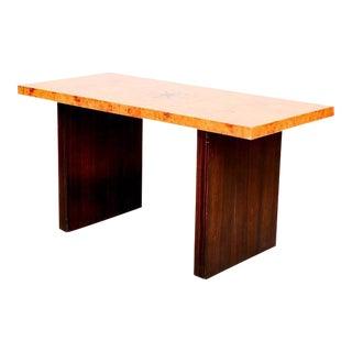 Andrew Szoeke Burl & Macassar Coffee Table