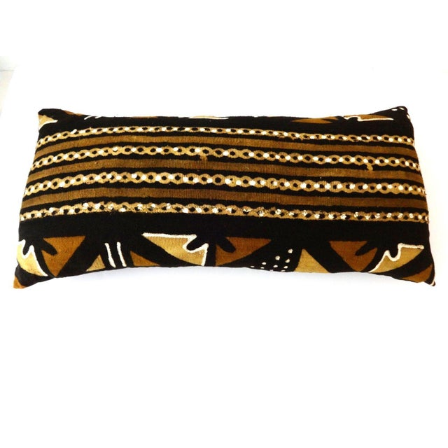 Mud Cloth Long Pillow - Image 4 of 9