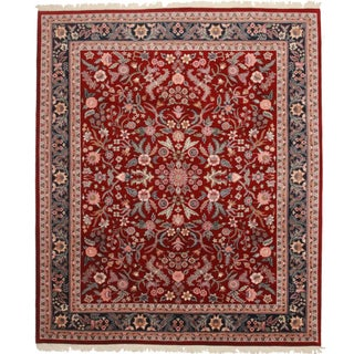 Rugsindallas Vintage Hand Knotted Persian Style Rug