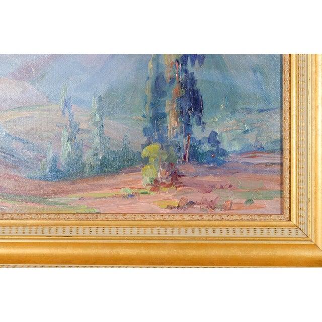 Martella Cone Lane -California Landscape -Oil Painting -Impressionist C.1920s - Image 5 of 10