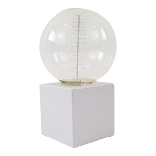 White Cube Table Lamp