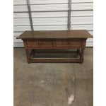 Image of Peruvian Carved Console Table