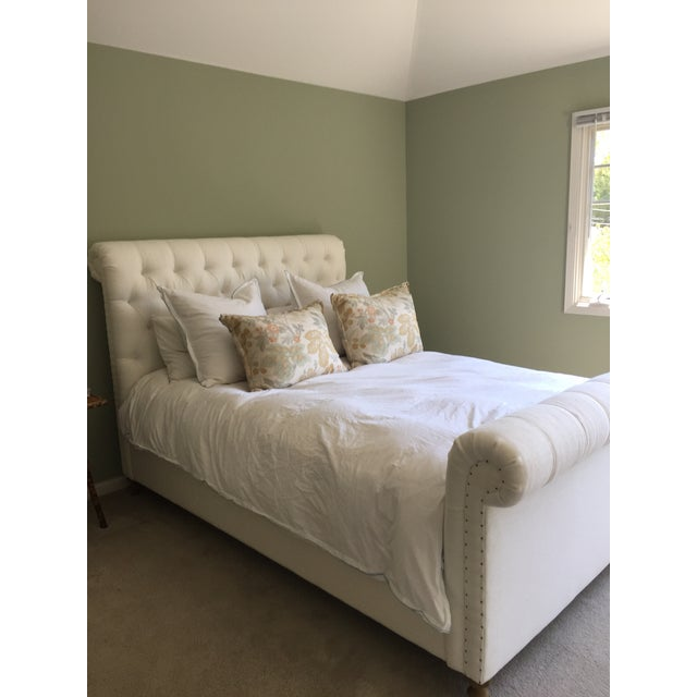 Image of Restoration Hardware Chesterfield Bed