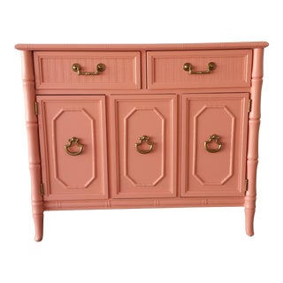 Broyhill Coral Reef Faux-Bamboo Buffet