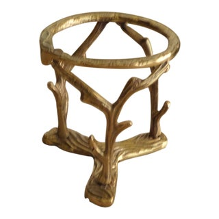 Solid Brass Branch Display Stand