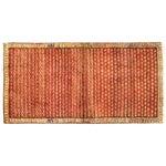 "Image of Vintage Red & Orange Persian Rug - 3'6"" X 6'10"""