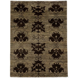 "Ziegler, Hand Knotted Area Rug - 4' 10"" X 6' 5"""