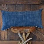 Image of African Indigo & Mudcloth Lumbar Pillow