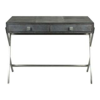 Sarreid Ltd Grey Shagreen Desk