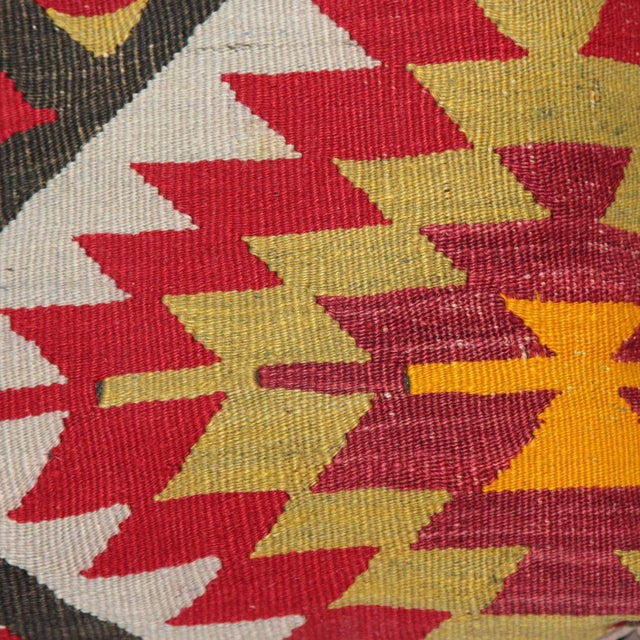 Turkish Handmade Kilim Pillow - Image 3 of 6