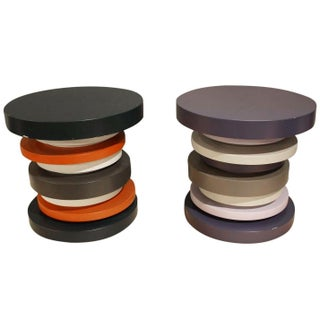 Tomasella Stacked Side Tables - Pair