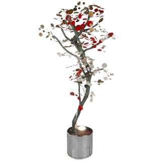 Curtis Jere Style Tree Sculpture