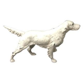 Cast Iron Pointer Dog Figure
