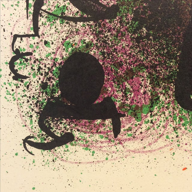 Miro Ma De Proverbis Lithograph - Image 8 of 9