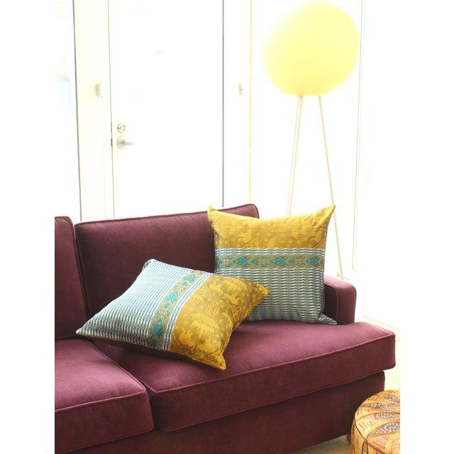 Brand New Golden Ganesh Javanese Boho Pillow - Image 7 of 7