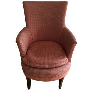 Children's Pink Naugahyde Chair