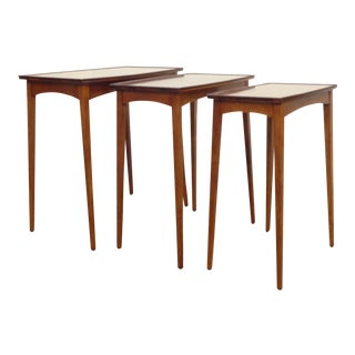 1960's Tall Nesting Tables - 3
