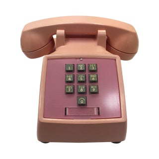 Western Electric 1960s Pink 1500 Telephone