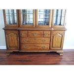 "Image of Thomasville ""Fisher Park"" China Cabinet/Buffet"
