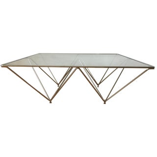 Paolo Piva Alanda-Style Coffee Table