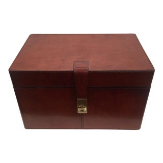 Leather & Brass Box