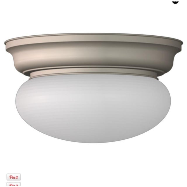 Image of Classic Flush Ceiling Fixture