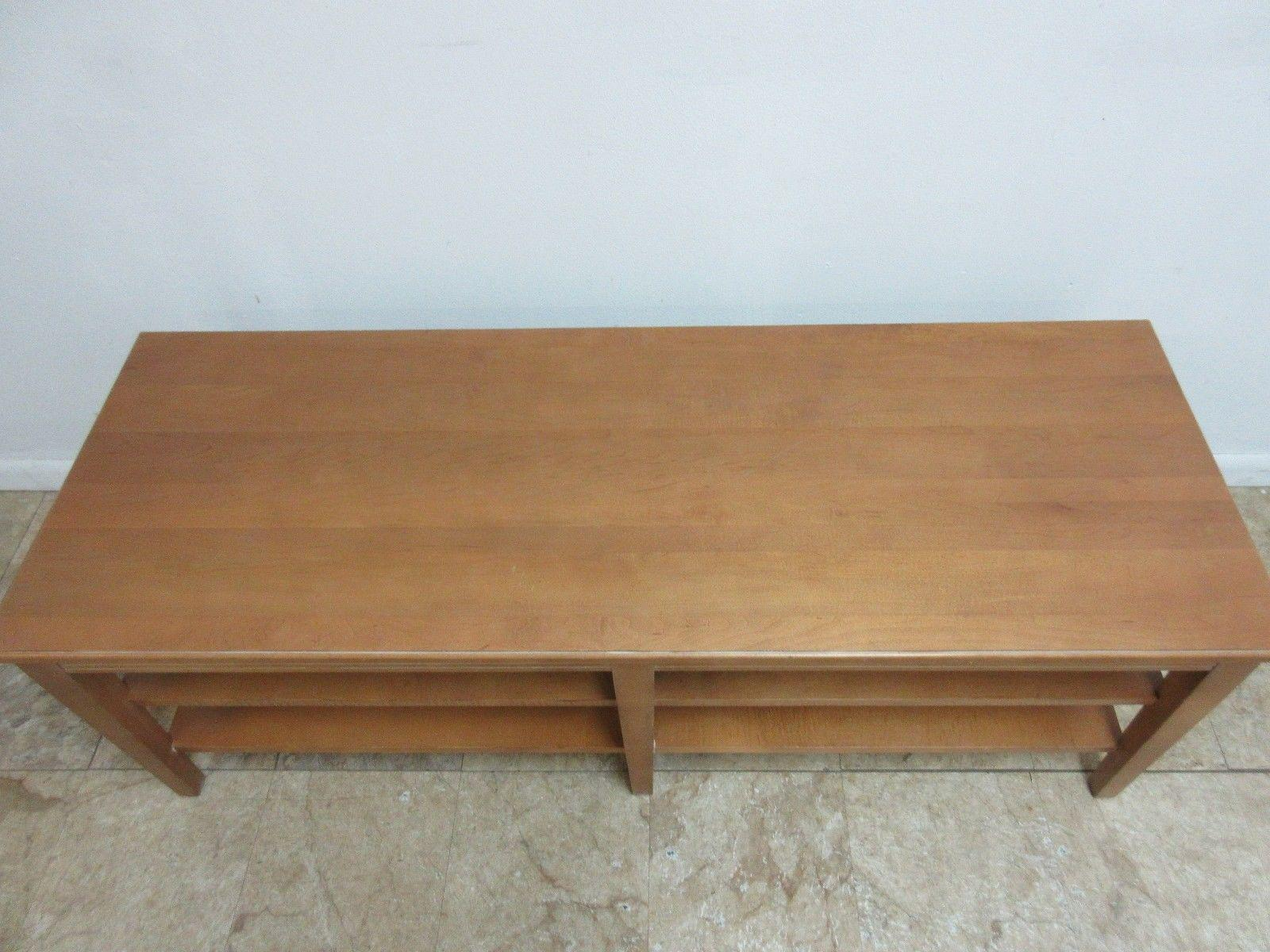 Ethan Allen Swedish Home Long Coffee Table   Image 5 Of 8