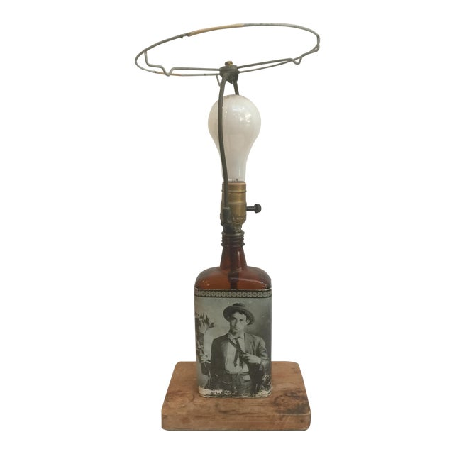 Vintage Liquor Bottle Lamp Base - Image 1 of 5