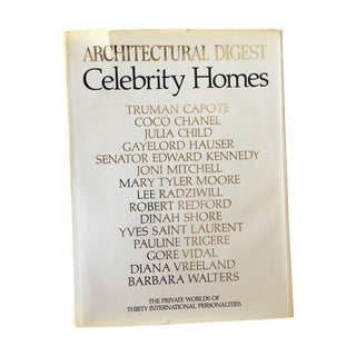 Architectural Digest Book: Celebrity Homes, 1st Ed