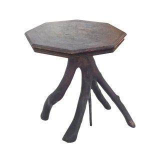Folk Art Twig Table