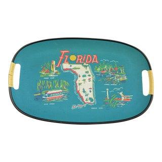Mid-Century Florida Souvenir Tray