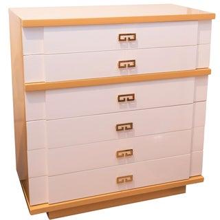 Kent Coffey Two-Tone Lacquer Dresser