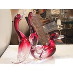 Image of Murano Glass Ducks - Set of Three