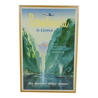 Scandinavia Pan America Poster