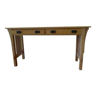 Stickley Mission Sofa Table