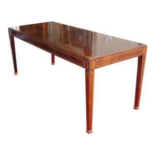 Jacques Adnet Table in Palisandro Veneer