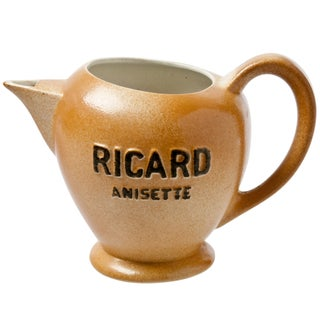 French Porcelain Ricard Anisette Pitcher