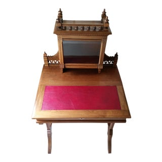Antique Eastlake Bonheur Du Jour (Joy of the Day) Ladies Writing Desk