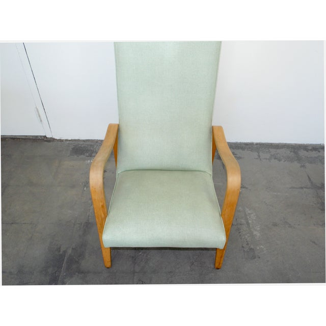 Thonet High Back Lounge Chair - Image 6 of 11