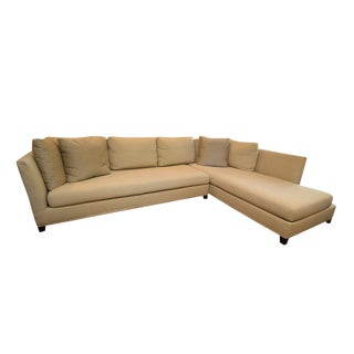 Flexform Italy Victor Sectional Sofa