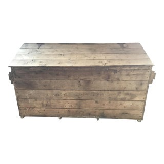 French Country Firewood Box