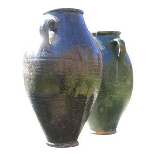 2 French Provencal Garden Urns
