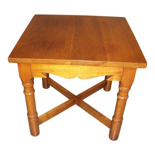 Stickley Natural Cherry Side Table