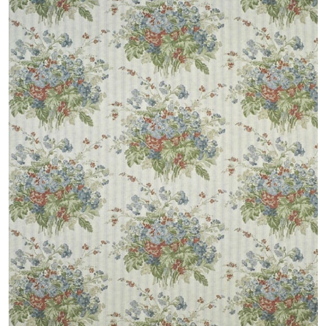 "Ralph Lauren Floral Slate ""Meeting House"" Fabric - Image 1 of 2"