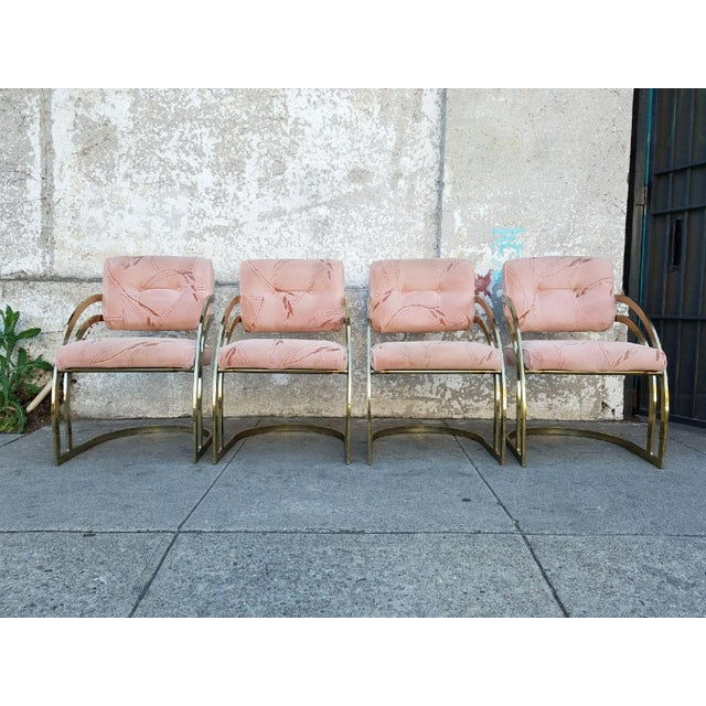 Vintage Milo Baughman Chairs- Set of 4 - Image 2 of 6