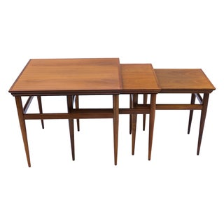 Mid Century Modern Nesting Tables by Heritage - 3